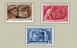 Hungary 1950. Reseisters Nice Set MNH (**) Michel: 1117-1119 - Nuevos