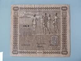 FINLAND-100 MARKKAA 1939 - Finlande