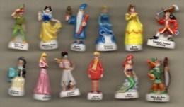 Série Complète 12 Fèves  HEROS ET PRINCESSES Disney 2005 - Disney