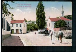 BOSNIA Nevesinje Pozdrav Iz Nevesinja Ca 1915 OLD POSTCARD 2 Scans - Bosnia And Herzegovina