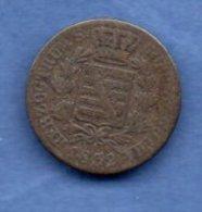 Saxe Coburg Gotha  - 3 Kreuzer 1832--   Km # 91 - état  B+ - [ 1] …-1871 : Etats Allemands