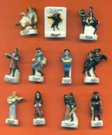 Serie Complète De 11 Feves Zorro - Disney