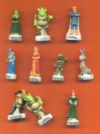 Serie Complète De 10 Feves Shrek - Disney