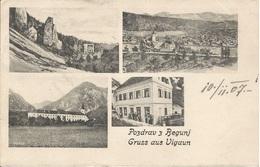BEGUNJ VUGAUN SLOVENIJA, PC, Cirkulated 1907 - Slowenien