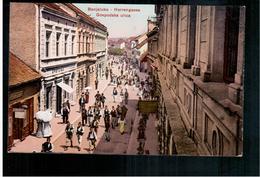 BOSNIA Banjaluka Gospodska Ulica Ca 1920 OLD POSTCARD 2 Scans - Bosnia And Herzegovina