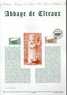 """"""" ABBAYE DE CITEAUX """" Sur Document Philatélique Officiel De 1998  N° YT 3143. DPO - Churches & Cathedrals"""