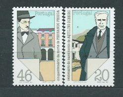Año 1985 Nº 1644/5 Personalidades Literarias - 1910 - ... Repubblica