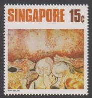 Singapore 178 1972 Contemporany Art 15c Moon Festival, Mint Never Hinged - Singapore (1959-...)