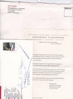 """1982 """"AFZENDER ONBEKEND"""" Met Volmacht Van De Kantonrechter Geopende Brief Om Afzender Te Achterhalen - Poststempels/ Marcofilie"""