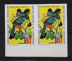 Cameroun 1972, Pair Birds, Unperforated, Minr 715 - Cameroon (1960-...)