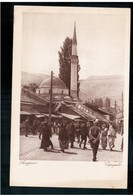 BOSNIA Sarajevo Bašcaršija Ca 1920 OLD POSTCARD 2 Scans - Bosnia And Herzegovina