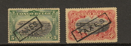 Congo Ocb Nr : TX31 - TX 32 * MH (zie Scan) - Belgisch-Kongo