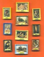 Serie Complète De 10 Feves Sur Les Tableaux Célèbres - Geschiedenis