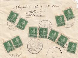 4.12.1931 Albania Delvin İstanbul Kor? Letter Cover - Albania