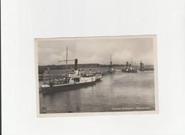 Konstanz - Hafen Einfahrt / Dampf - Schiff Zähringen  (616) - Konstanz