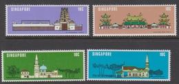 Singapore 330-333 1978 National Monuments, Mint Never Hinged - Singapore (1959-...)