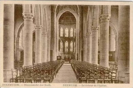 """DIXMUDE-DIKSMUIDE - Intérieur De L'Eglise - Edition De """"La Lecture Générale"""" S.A., Bruxelles - Diksmuide"""