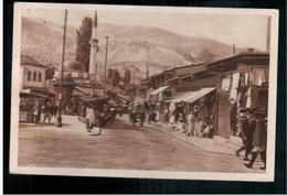 BOSNIA Sarajevoa Bašcaršija 1927 OLD POSTCARD 2 Scans - Bosnia And Herzegovina