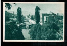 BOSNIA Sarajevoa 1950 OLD POSTCARD 2 Scans - Bosnia And Herzegovina