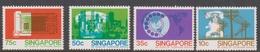 Singapore 356-359 1979 100 Years Of Telephone Service, Mint Never Hinged - Singapore (1959-...)