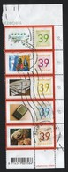 NEDERLAND MY STAMP NVPH 2187-88-89-90-91 STRIP - Usados