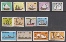 Singapore 368-380 1980 Ships Definitives, Mint Never Hinged - Singapore (1959-...)