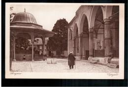 BOSNIA Sarajevo Dvorište Begove Džamije  Ca 1920 OLD POSTCARD 2 Scans - Bosnia And Herzegovina