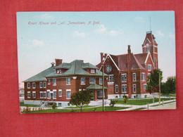 Court House & Jail Jamestown North Dakota   --- Ref 3075 - Jamestown