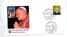 Lettre Cachet Osnabrück Visite Du Pape Jean Paul II - [7] République Fédérale