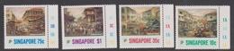 Singapore 596-599 1989 Arts, Mint Never Hinged - Singapore (1959-...)