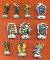 Serie Complète De 10 Feves Harry Potter 2003 - Disney
