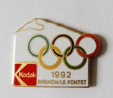 Pin's KODAK Avignon Le Pontet JO 1992 - PHOTO - Photography
