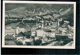 BOSNIA Travnik Vidik Sa Ilovace Ca 1920 OLD POSTCARD 2 Scans - Bosnia And Herzegovina