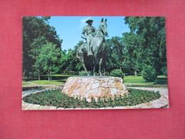 Bronze Statue Theodore Roosevelt Minot  North Dakota   --- Ref 3076 - Minot
