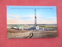 Oil Well In Williston Basin  North Dakota   --- Ref 3076 - Williston