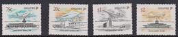 Singapore 660-663 1991 Civil Aviation, Mint Never Hinged - Singapore (1959-...)