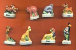 Serie Complète De 8 Feves Le Roi Lion 2 2000 - Disney