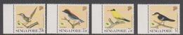 Singapore 667-670 1991 Garden Birds, Mint Never Hinged - Singapore (1959-...)
