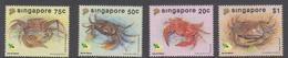 Singapore 702-705 1992 Marine Life, Mint Never Hinged - Singapore (1959-...)