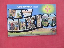 Greetings  Zia Sun Symbol  - New Mexico- Ref 3076 - Native Americans