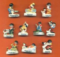 Serie Complète De 10 Feves Haribo C'est Bo 2002 - Characters