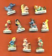Serie Complète De 10 Feves Les Comtes De Notre Enfance 2002 - Cartoons