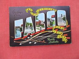 Greetings  Fargo  North Dakota > Ref 3076 - Fargo