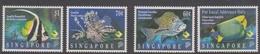 Singapore 795-798 1995 Marine Life, Mint Never Hinged - Singapore (1959-...)