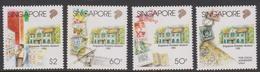 Singapore 799-802 1995 Singapore Philatelic Museum, Mint Never Hinged - Singapore (1959-...)