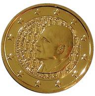 GRECE 2016 - 2 EUROS COMMEMORATIVE - DIMITRI MITROPOULOS -  PLAQUE OR - Grèce