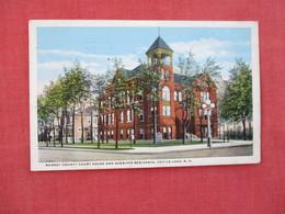 Ramsey County Court House & Sheriffs Residence  Devils Lake     North Dakota > Ref 3076 - United States