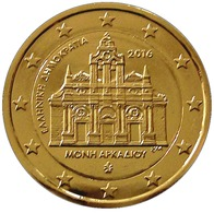 GRECE 2016 - 2 EUROS COMMEMORATIVE - MONASTERE ARKADI -  PLAQUE OR - Grèce