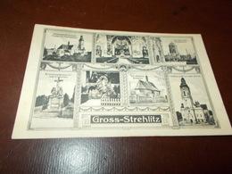 B670  Strehlitz Gross Cm14x9 Residui Carta Al Retro - Polonia