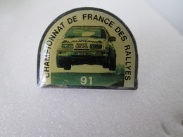 PIN'S    FORD  SIERRA  COSWORTH  Championnat De  France  Des  Rallyes  91 - Ford